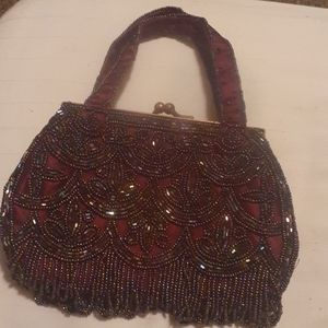 LaRegale Vintage Beaded Purse
